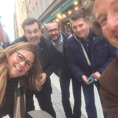 Smarketing teams on a treasure hunt