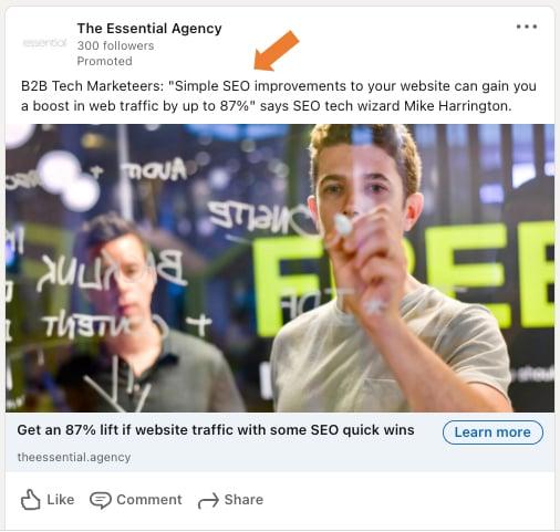 Ways to win with LinkedIn ads