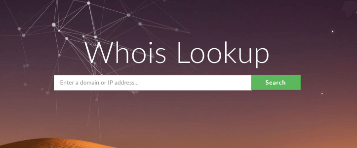 whois-lookup